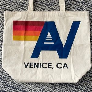 AVIATOR NATION Large Canvas Tote Bag